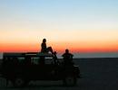 Abendstimmung - Makgadikgadi-Salzpfannen