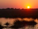 Abends in Khwai - Moremi (Okavangodelta)