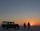 Ntwetwe Pan Sunrise - Botswana