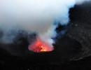 Nyiragongo - Blick in den Krater