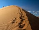 Auf der Sossusvleidüne - Namib Naukluft NP