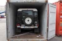 Landy Containerverladung Hamburg