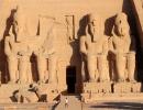 Kleine Lena, grosser Ramses - Abu Simbel