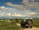 Unterwegs im Deception Valley - Central Kalahari