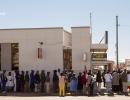 Manchmal gibt es bis zu 500 Meter lange Schlangen vor den Geldautomaten - Harare