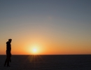 Ntwetwe Overnight Sunrise - Botswana