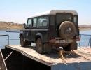 Landy fest verzurrt - Wadi Halfa